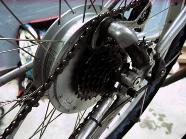 Six speed freewheel on the BMC hub motor