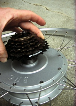 BMC Motor freewheel installation