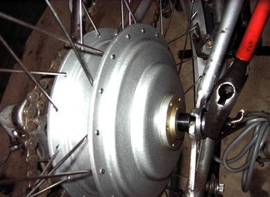 Mounting BMC Puma motor on bike