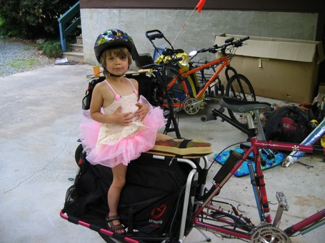 Eva on the Xtracycle Sports Utility Bike