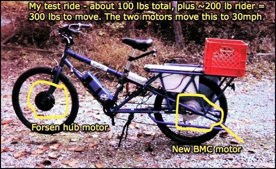Yuba Mundo with two motors
