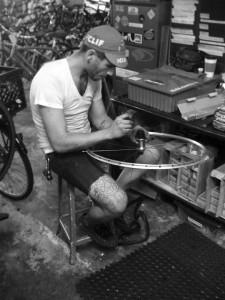 Neal Cart, lead mechanic