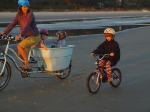 The island is great for family riding