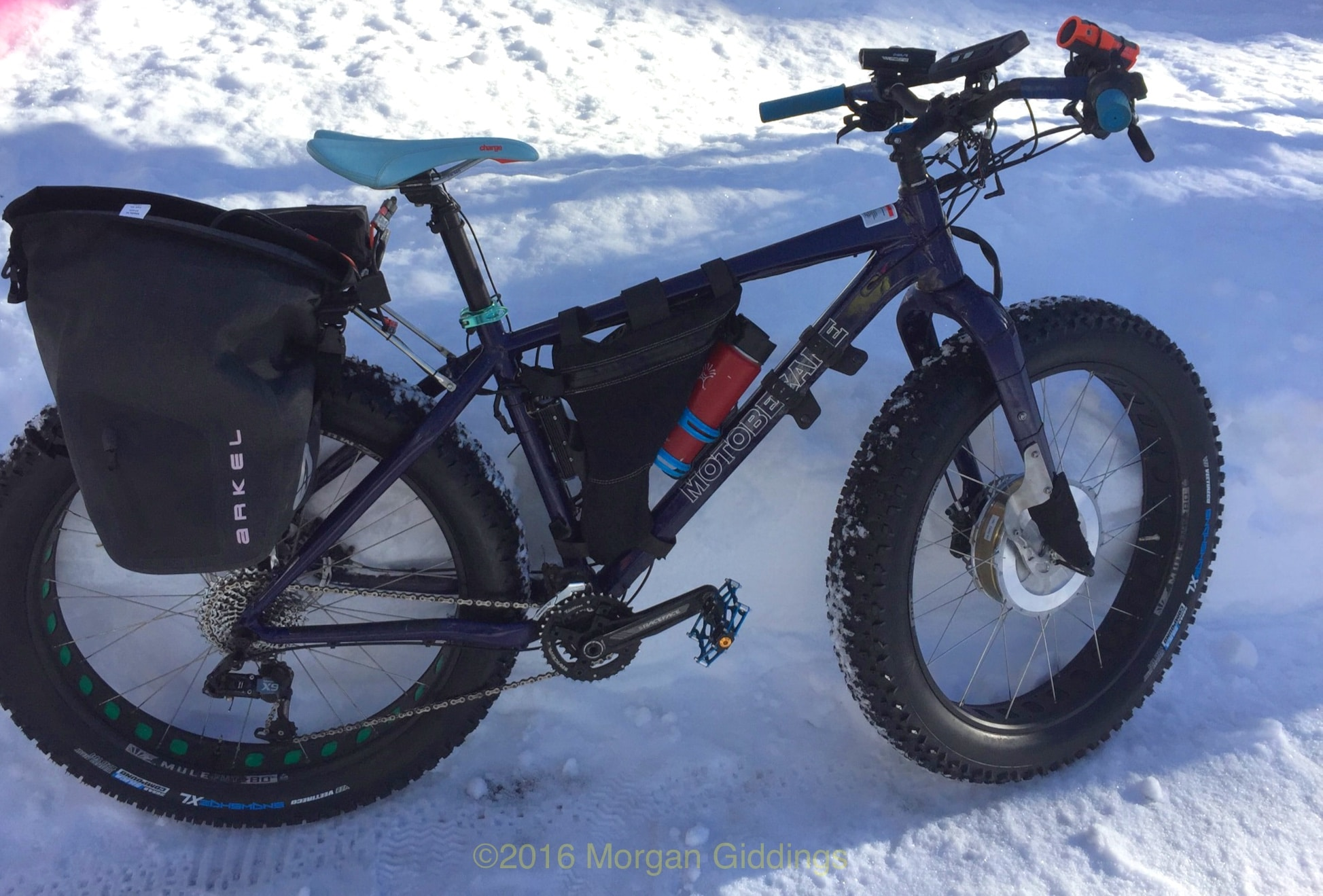 All Wheel Drive Electric Fat Bike Makes Snow Riding Easier Cycle9com